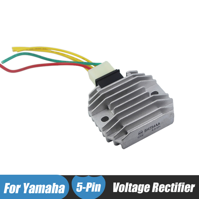 motorcycle regulator rectifiers 5 wires plug for yamaha fzr600 fz6r rh aliexpress com yamaha regulator rectifier wiring yamaha regulator rectifier wiring