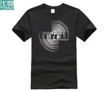 Summer Short Sleeve Shirts Tops M~2xl Big Size Cotton Tees Free Shipping Tool T-shirt Spiro Ii Design Tee