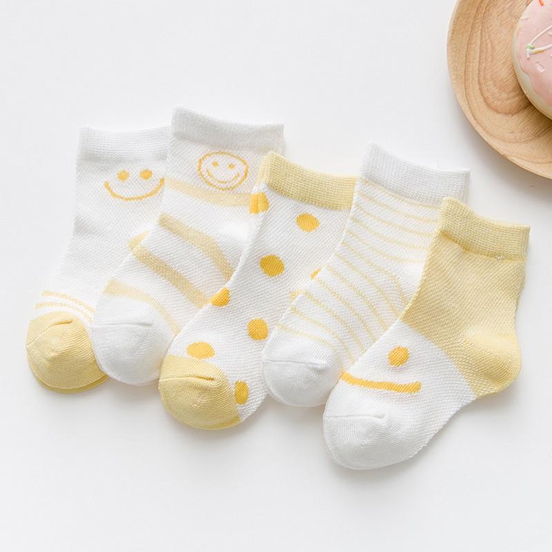 MAINEOUTH 5 Paren / partij Zomer Cool Mesh Pasgeborenen Baby Baby - Kinderkleding - Foto 5