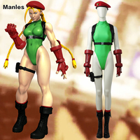 Cammy White Costume Street Fighter V Cosplay Hot Game Jumpsuit Fancy Bodysuit Halloween Carnival Outfit Adult Women Custom Made