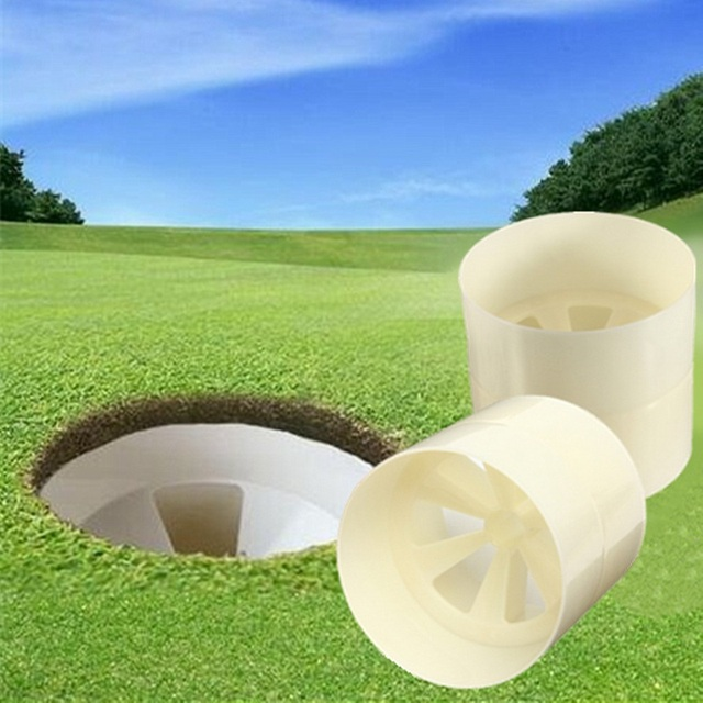 Professional Backyard Practice Golf Flag Stick Putting Green Hole Pole Cup  Putting Putter Yard Garden Training