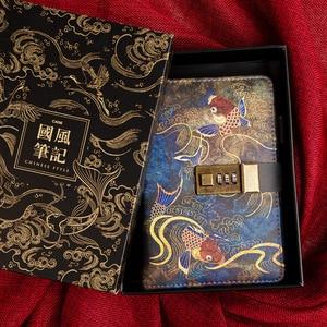 Image 3 - Kawaii A6โน้ตบุ๊คและวารสารSPIRAL Vintage Note Book Luxury DIY Agenda Planner Organizer Diary Travel Notepadล็อคของขวัญ