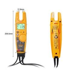 Fluke T6-600 nie-skontaktuj się z napięcia cęgowy miernik prądu cyfrowy cęgowy miernik napięcia prądu tester ciągłości