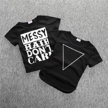 цены Summer Cotton baby t-shirts Boy Kids Letter  Short Sleeve Cartoon Tops Children O-neck T Shirt Casual Gray Tees Clothes 0-2Y