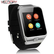 Vecdory GW06 Relógio Inteligente Com Monitor De Freqüência Cardíaca GPS Câmera Touch Screen Bluetooth Relógio Inteligente Com Câmera para A Apple Android