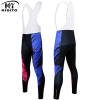 KIDITOKT Clothes Cycling Pants Bicycle Winter Cycling Woman Tights Warm Compressed Cycling Pants Sport Outdoor For