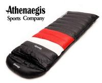 Athenaegis заполнить 2000 г гусиный пух спальный мешок взрослых Ultralight поход зима туристический открытый оборудования Кемпинг сна сумки