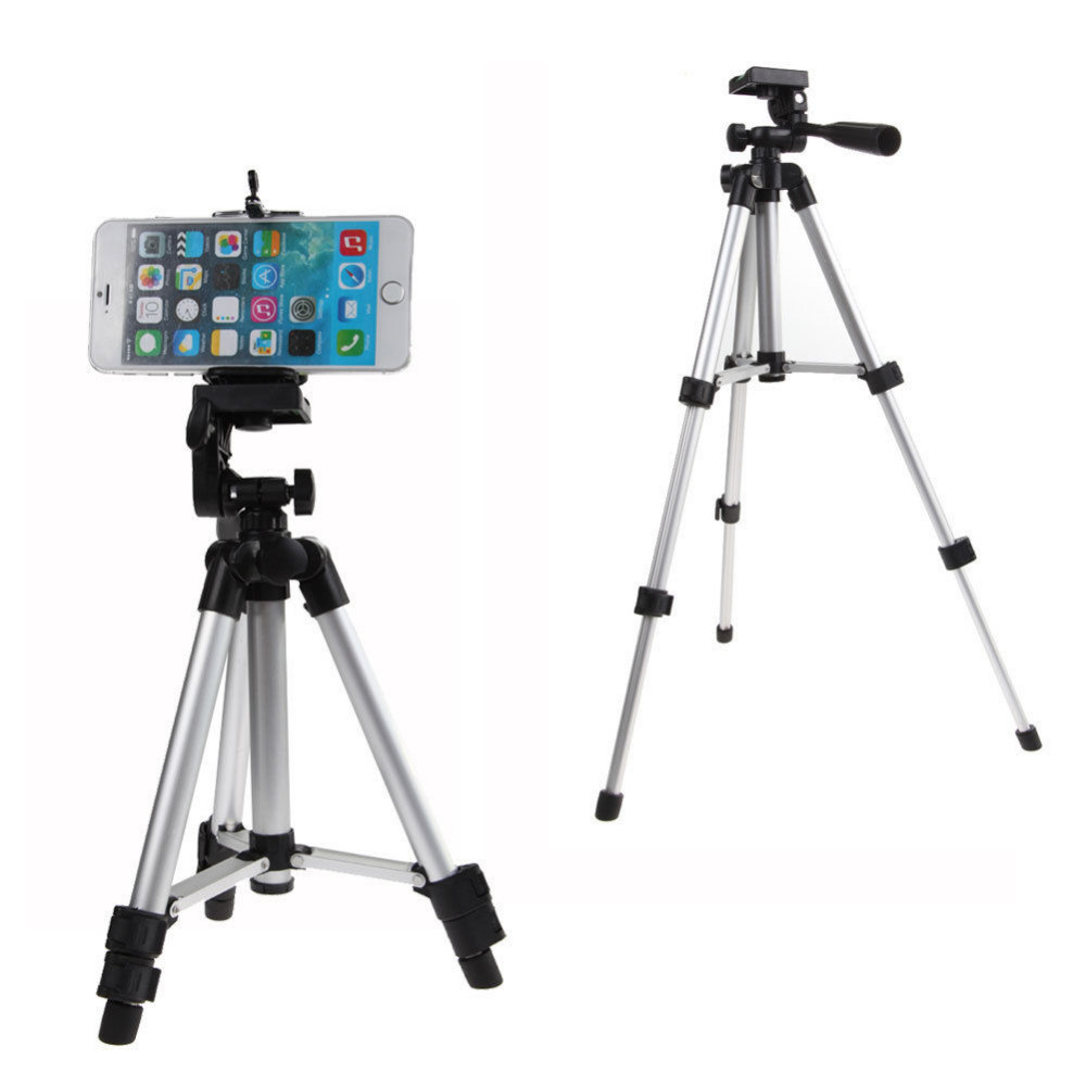 Professional 360 degree Phone Holder For iPhone Samsung HTC 6NEB Rotatable Stand Tripod Mount ...