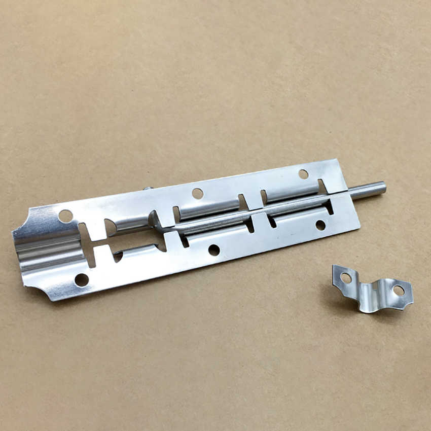 "3"" 4"" 5"" Stainless Steel Door Latch Barrel Bolt Latch Hasp For Bathroom Bedroom Gate Lock Durable Safety Hardware Locks"