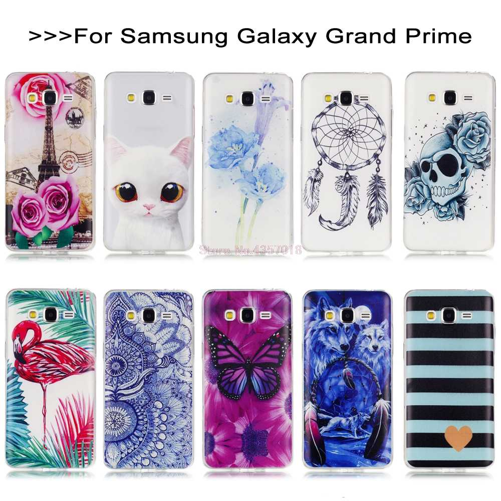 For Coque Galaxy Core Prime Case for Samsung Galaxy Grand Prime G531Y SM-G531Y G530 G530H SM-G530F G531 SM-G531H SM-G531F Covers