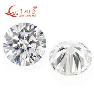 Image 4 - 6.5mm DF  color white Round Brilliant cut moissanites loose stone with GRA certificates