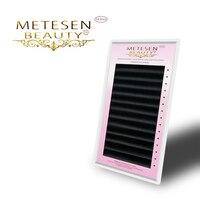 5cases set,Metesen high quality mink eyelash extension,fake eyelash extension,individual eyelashes,