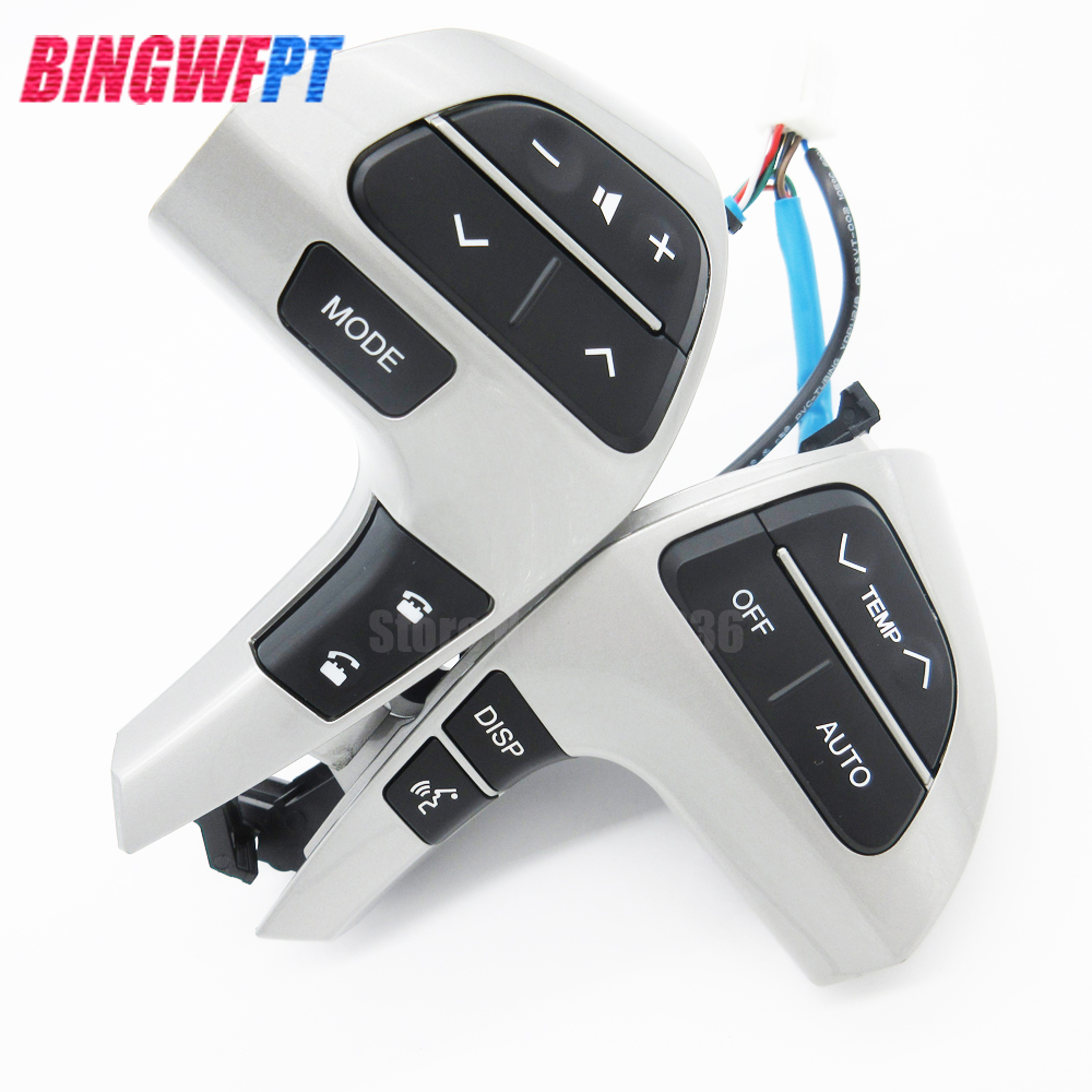 Multifunction Steering Wheel Audio Control Switch 84250-0E220 842500E220 For Toyota Highlander