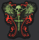 11.8 inches skull wi...