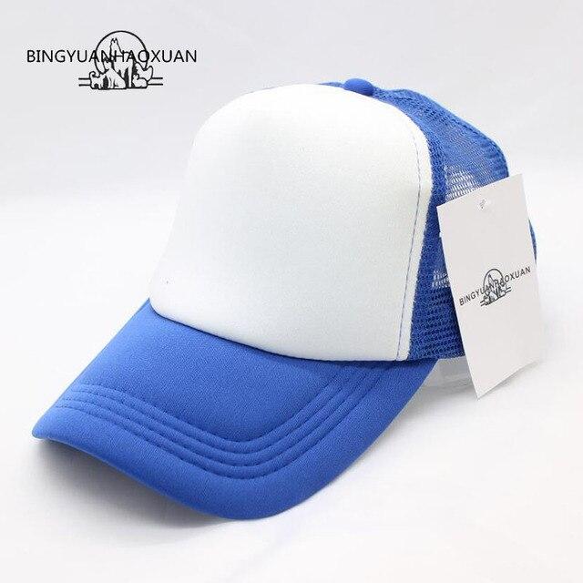 763595ab8d8 BINGYUANHAOXUAN2017 New Custom new York Trucker Mesh Baseball Caps Adult men  and women Advertise Tourism snapback Hats Casquette