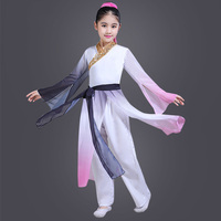 Hanfu Kids Performance Clothing Stage Costume Festival Outfit Chinese Folk Dance Costumes Children Classical Clothes Suit DN3492