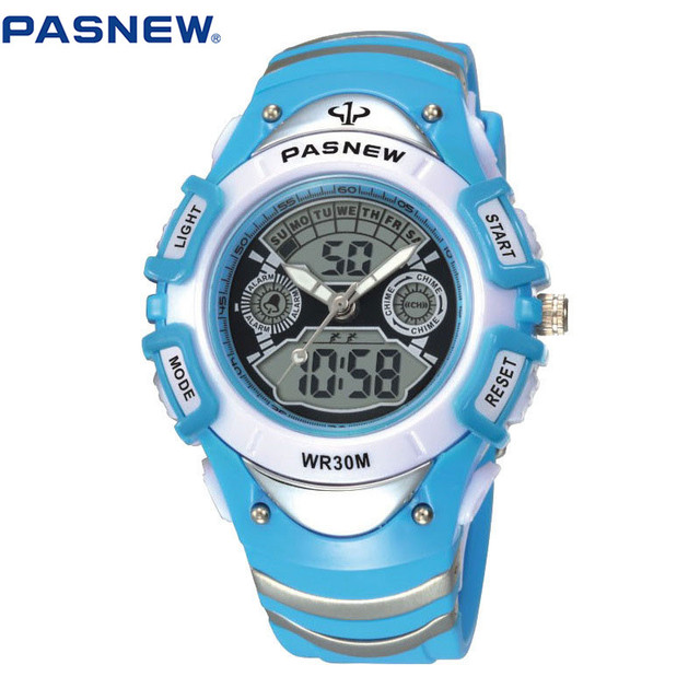 2016 New Children Watches Cute Kids Watches Sports Cartoon Watch for Girls Boys Rubber Children's Digital LED Wristwatches Reloj