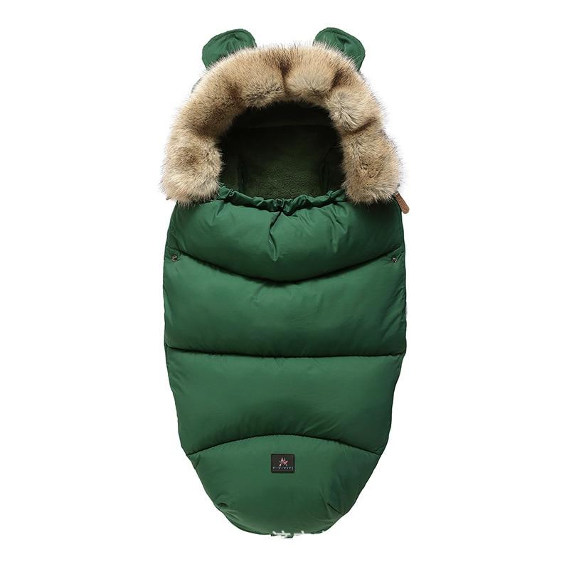 Us 13 55 56 Off Winter Baby Stroller Sleeping Bag Yoya Plus Yoyo Vovo Warm Sleepsacks Robe Infant Wheelchair Envelopes Newborns Foot In