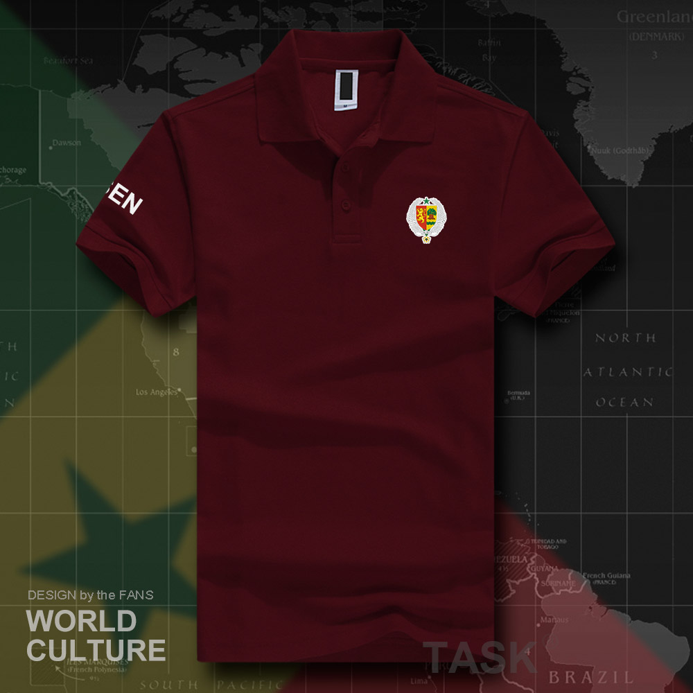 Senegal SEN   polo   shirts men short sleeve white brands printed for country 2018 cotton nation team flag new fashion Senegalese 20