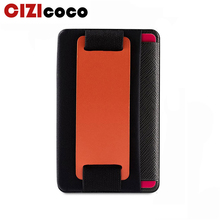 2019 Hot Sale New Style Mobile Phone Back Cover Multi Function Card Holder Case Pouch For Cell High Elastic Bus Bag