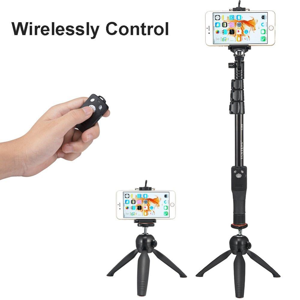 все цены на Bluetooth Remote Shutter Tripod & Handheld 2in1 Phone Selfie Stick Camera Monopod For iPhone For Samsung NOTE 8 5 S8 PLUS For LG