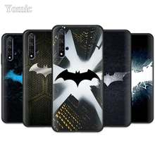 Fresco marvel Batman logotipo Preto Capa de Silicone para Huawei Honor 20 Pro 9 10 20 Lite 7A 7C 7S 8A Pro 8X 8C 20 8S Vista Tampa do Caso TPU(China)