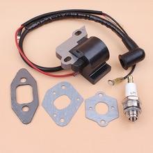 Ignition Coil Magneto Carburetor Intake Gaskets for Partner 350 351 370 371 390 420 440 Gasoline Chainsaw Spares Parts стоимость