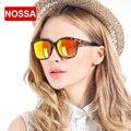 NOSSA Nova Marca de Design dos homens Óculos Polarizados TR90 Colorido das Mulheres Revestimento de Óculos de Sol
