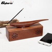 CYBORIS Wireless Stereo Mini Portable MP3 Player Wooden Wireless Bluetooth Speaker