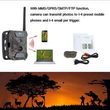 New MMS GPRS SMS Trail Game Scouting Wildlife Hunting 12MP HD Digital Camera Rain-proof 940nm IR LED Video Recorder