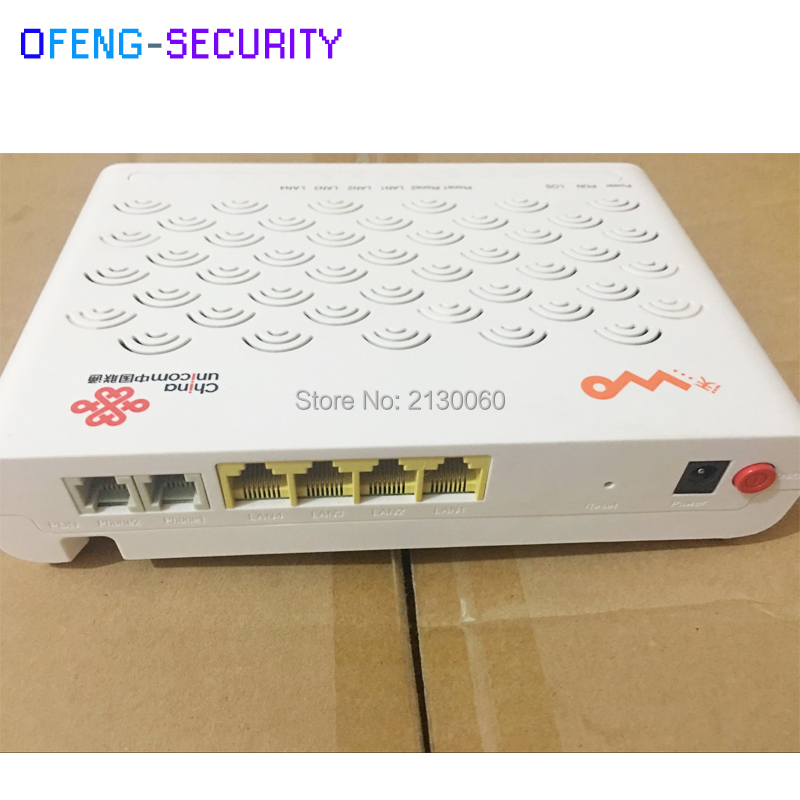 Factory Sale ZTE ZXHN F417 EPON ONU With 4 Lan Port+2 Voice Port