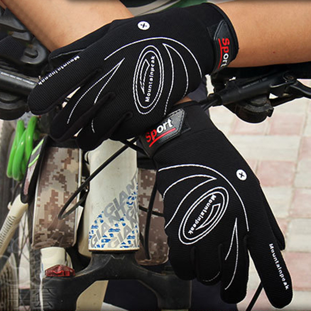 Men's Gloves Muqgew Touch Screen Cold Waterproof Windproof Climbing Riding Fleece Snowboard Bicycle Tactical Hard Knuckle Full Finger Gloves Can Be Repeatedly Remolded.