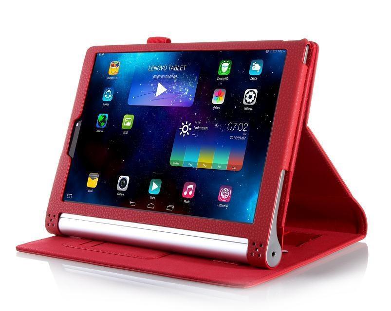 Funda de cuero de lujo de la PU para lenovo yoga tablet 2 10 1050 - Accesorios para tablets - foto 4