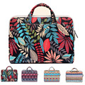 Multi-use Canvas Zipper Laptop Portable KUMON Briefcase for MacBook 11/12 13.3 Air/Pro/Retina NoteBook Sleeve Bag