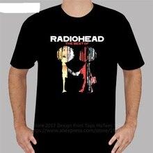 Movie T Shirts MenS Funny Design New Radiohead O-Neck Short Sleeve Style Tee Shirt