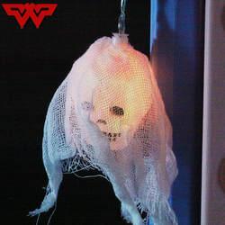 Светодиодный свет Строка Хэллоуин декорационный наружный двор светодиодный Фонари декоративные световые гирлянды Батарея белый текстиль