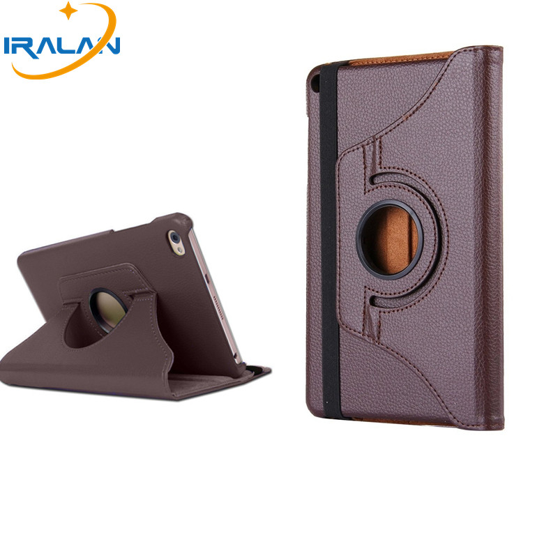 up to date 360 Rotating Flip stand PU Leather Cover For Huawei MediaPad T1 8.0 T1-821 T1-821W-823L S8-701U -701W Tablet Case+pen