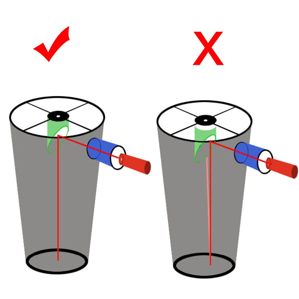 SVBONY 1.25 «Калибратор лазерлі қызыл 7 - Кемпинг және жаяу жүру - фото 5
