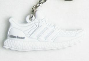 Dropwow Silicone Jordan Shoes Ultra Boost Keychain Key Chain Sneaker ... d882198fe540