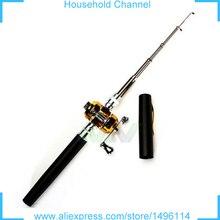 2017 Fishing Rods Carbon Telescopic Holders Carp Aluminium Alloy Pen Style Drum Reel Portable Pesca Minimalist Modern Metal