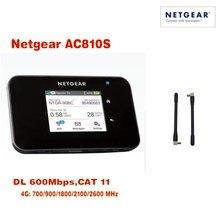 Netgear Aircard AC810S 810S Cat11 600Mbps 4GX (plus 2pcs antenna) Advanced III 4G LTE MiFi Mobile Hotspot plus 2pcs antenna
