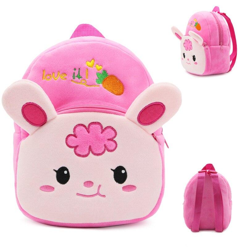 New-Cute-Cartoon-Kids-Plush-Backpack-Toy-Mini-School-Bag-Childrens-Gifts-Kindergarten-Boy-Girl-Baby-Student-Bags-Lovely-Animal-2