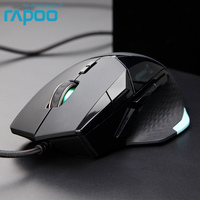 Original Rapoo VT900 Wired Gaming Maus IR Optische mit 16000 DPI Einstellbar für Gamer PUBG Computer Ohne Einzelhandel Box
