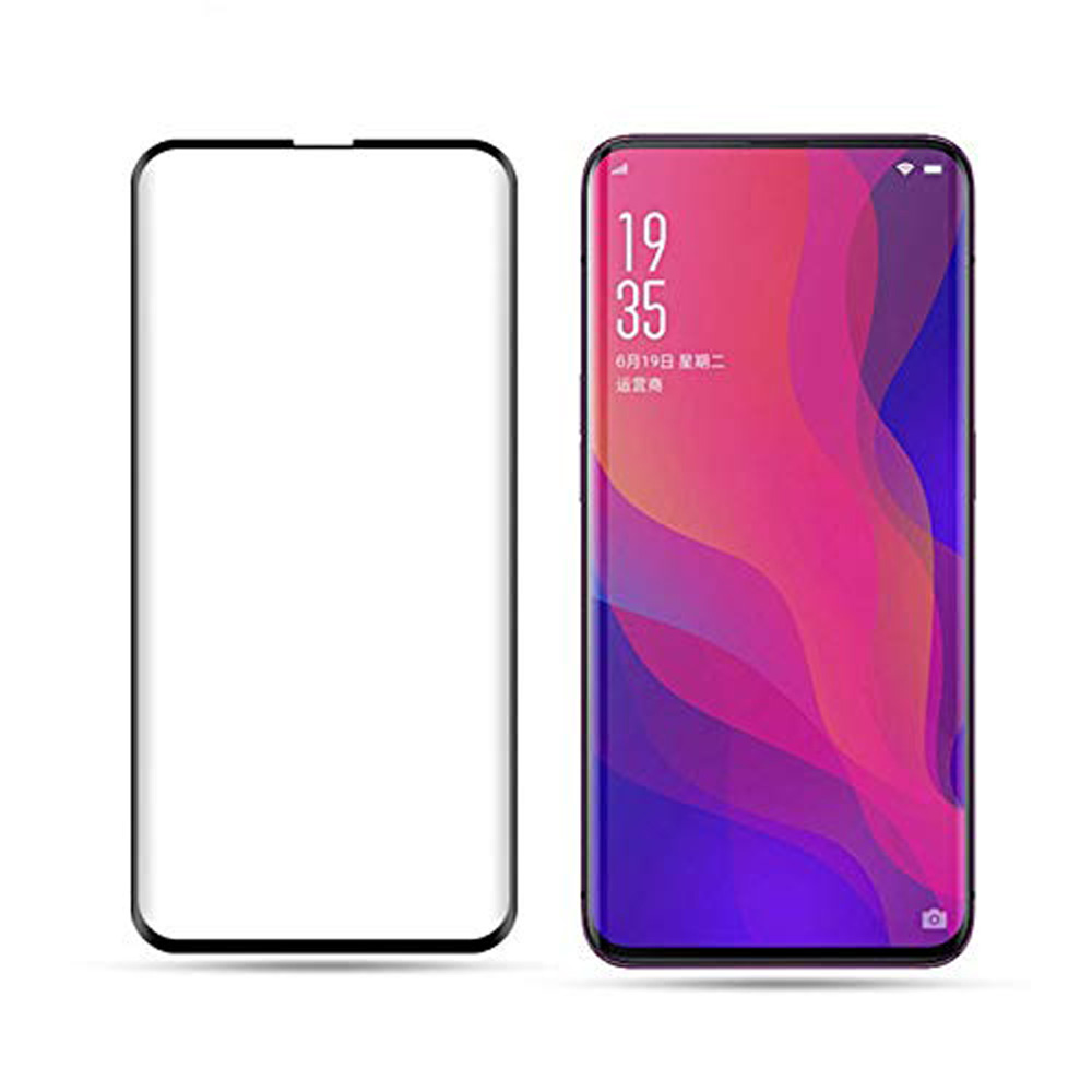 100% Quality 2pcs 9h Hardness Full Cover 3d Tempered Glass For Oppo Find X Screen Protector For Oppo Find X Anti-fingerprint Protective Film Nourishing The Kidneys Relieving Rheumatism
