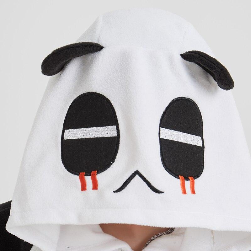 Lovely Panda Black Soft Adult Onesies Animal Pajamas Unisex Men Pyjamas Party Jumpsuit Warm Polar Fleece Winter Funny Kigurumi (6)