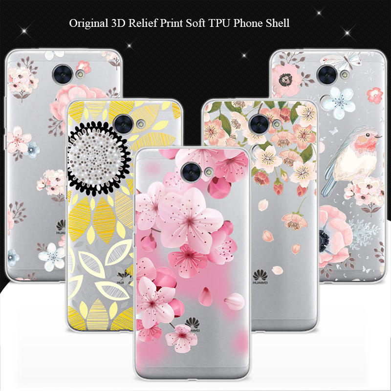 100% Genuine Phone Cases For Huawei Y7 Case Cover 5.5 inch