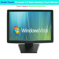 Xintai Touch 19 Inches 4:3 Ratio Desktop Touch Monitor 5 Wires Resistive Touch Screen Resolution (1280*1024)