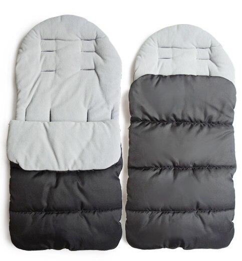 Baby Sleeping Bag For Stroller Warm Winter Newborn Envelope Kids Thick Foot Cover For Pram Wheelchair Infant Stroller Foot Cover