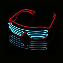 Светодиодный светящийся EL Wire, светящийся декоративный светильник, вечерние, классические подарки, яркий светильник, реквизит, праздничные, вечерние, подарки