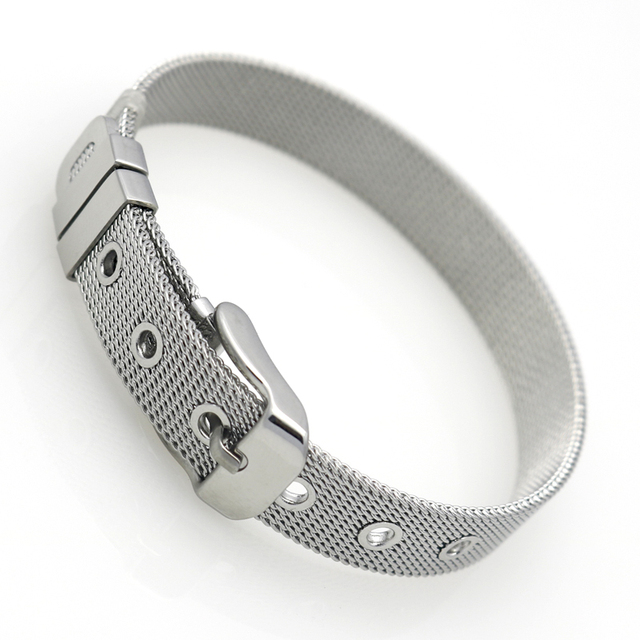Hot Classic Fashion Jewelry Bracelets Bangles fine Stainless Steel Wristband Bracelet For Women Top Quality Wholesale And Retail